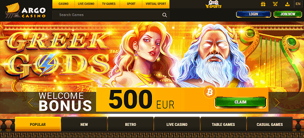 120% welcome bonus + 20 free spins + 2 EURO free money