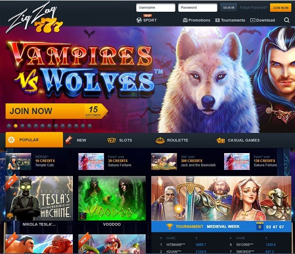 ZіgZаg777 Casino Review, Rating, Bonus