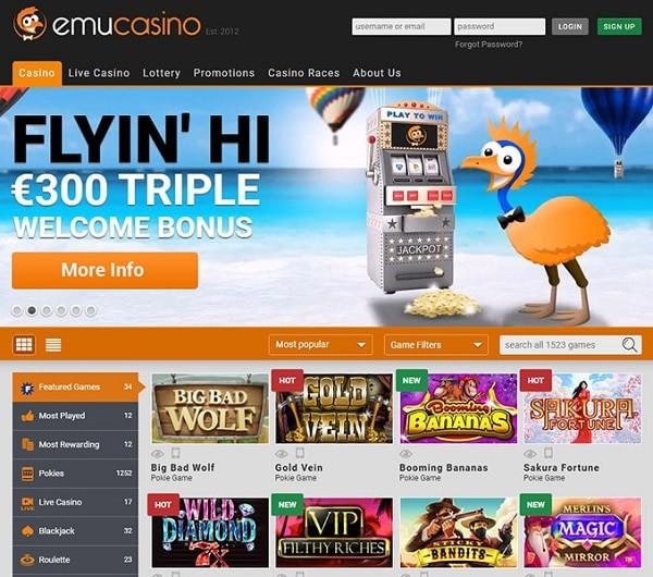 EMU homepage