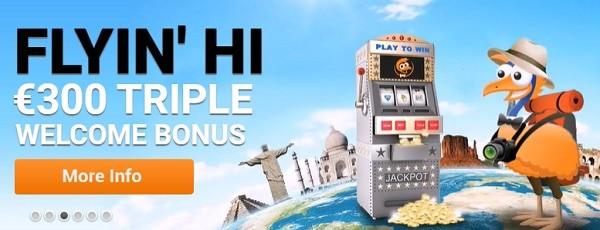 $300 welcome bonus EMU