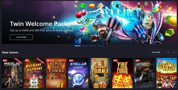 Twin Casino Free Spins Bonuses