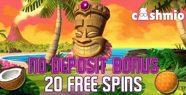 20 free spins bonus exclusive promotion