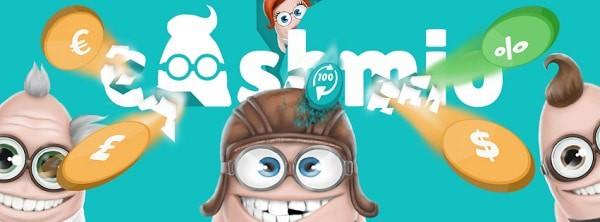 Cashmio Casino Free Spins no deposit bonus