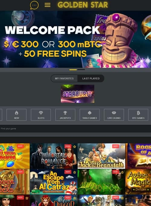 Golden Star Casino Review