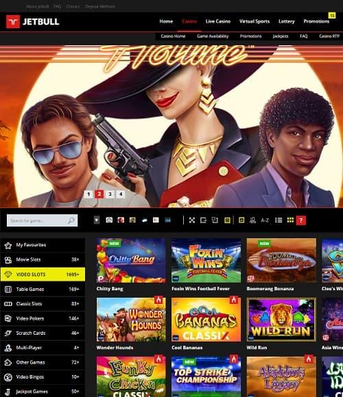 Jet Bull Casino Review