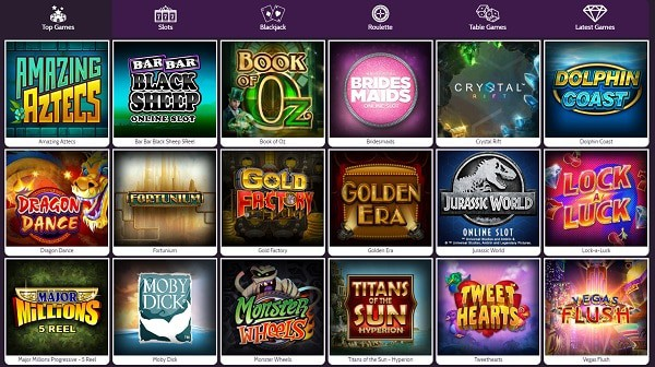 Mummys Gold Casino slots, table games, jackpots, live dealer, mobile games, and more...