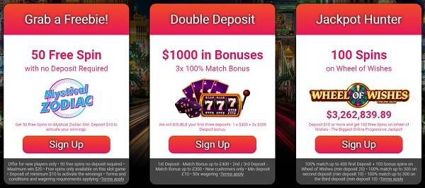 50 Free Spins No Deposit Bonus