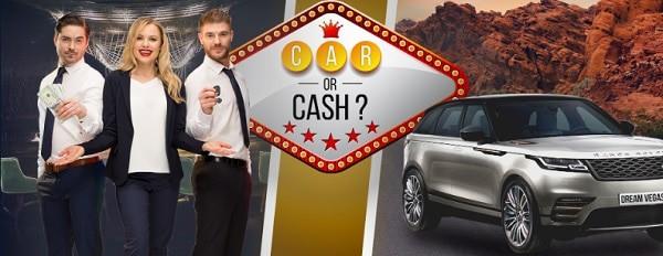 Win a Car or Cash?