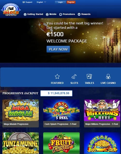 All Slots Casino Exclusive Review