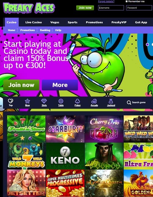 Freaky Vegas Casino Review