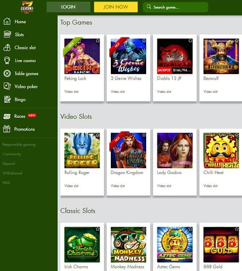 7 Reels Casino Review
