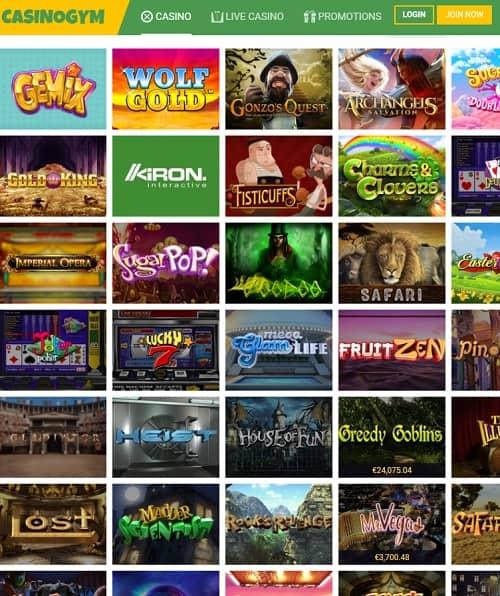 Casino Gym Review