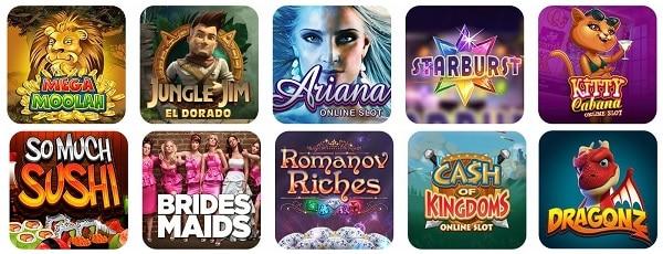 Spin Casino mobile games