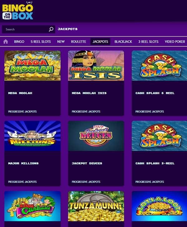 Bingo on the Box   100% bingo bonus & 200% casino bonus   review