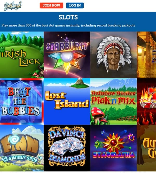 Slots Angel Casino Review: 25 free spins bonus code - no wagering