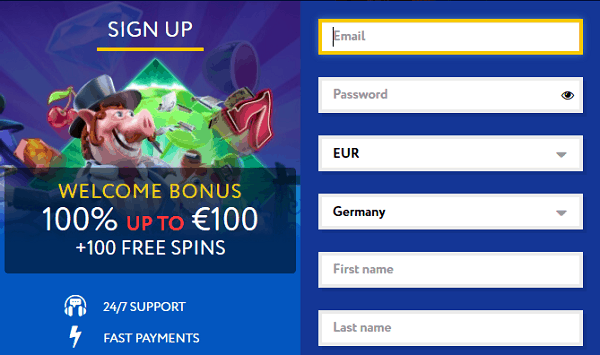 Register, Log In and Play