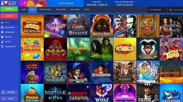 EUSlot Casino Full Review