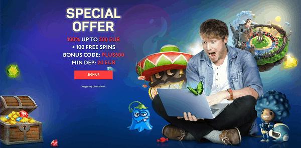 Special Welcome Bonus
