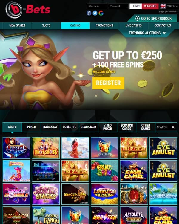 Play and Win at b-bets!