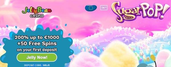 Jelly Bean Casino exclusive welcome bonus