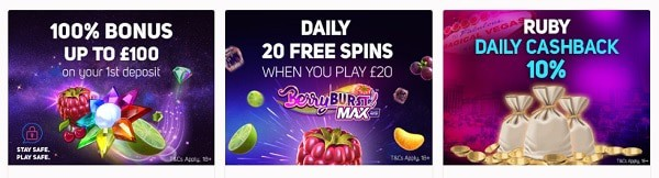 Extra Spins every day!