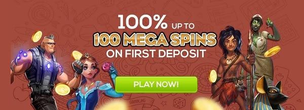 Queen Vegas Casino 100 free spins bonus