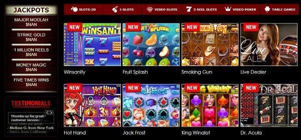 Rival, Betsoft Gaming, Vivo Gaming Saucify Casino Games