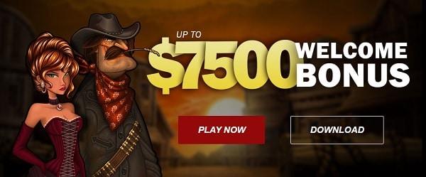 Slots Bonus of up to $7,500