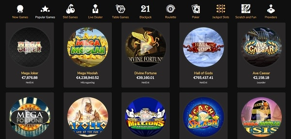 The Best Games to play at Jackpot Village Casino!