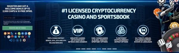 PlayBetR Casino Online - BTC, ETH, LTC, DASH, BCH, BNB, DAI, ETC, PAX, PBR, TUSD, USDC, XMR, and XRP