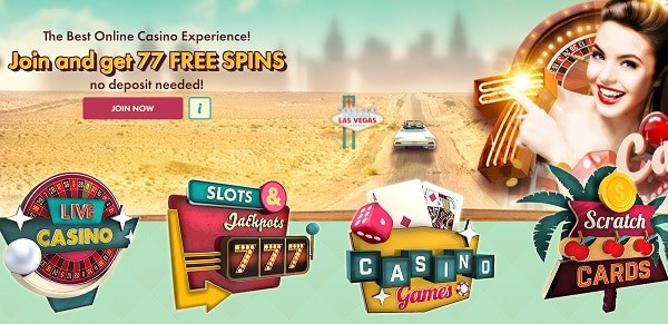 777 Casino 77 free spins no deposit required