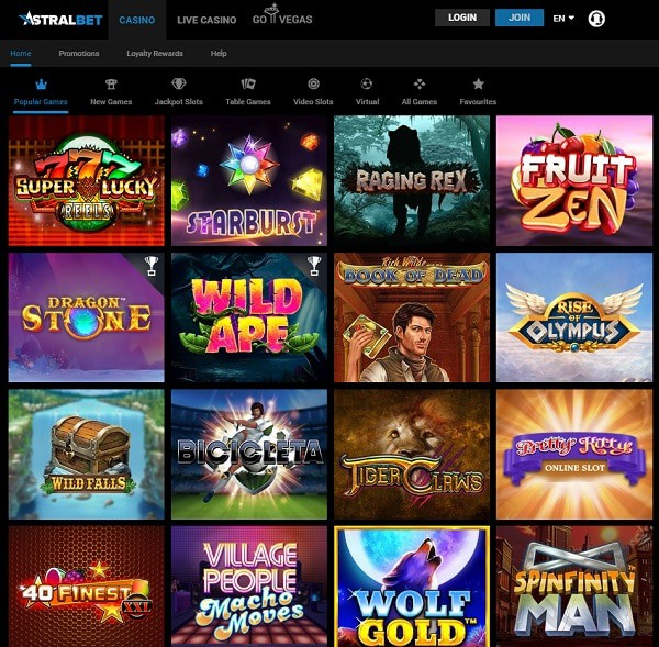 AstralBet Casino Full Review