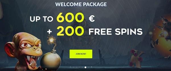 West Casino 200 free spins