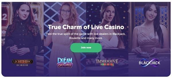 TrueFlip.io Live Casino