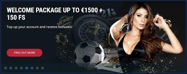 Register and claim free spins bonus!