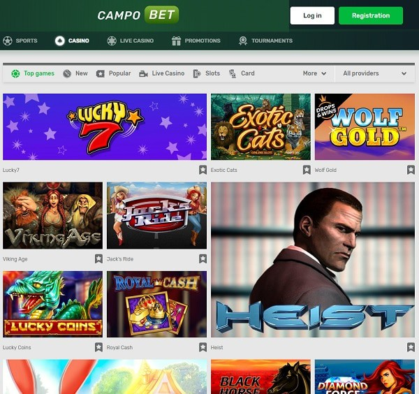 CampoBet Casin & Sportsbook Review