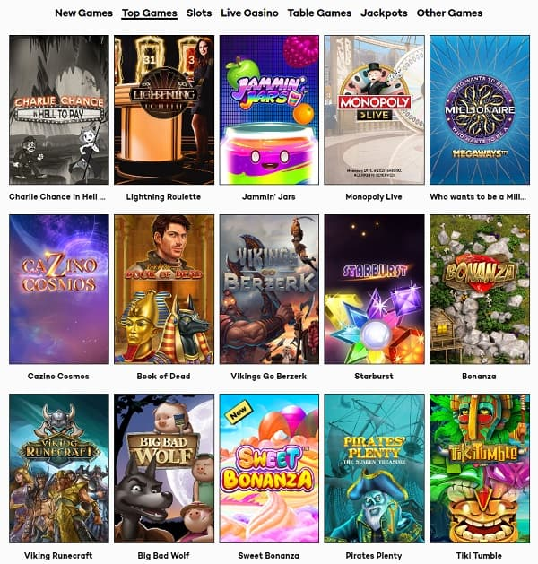 HighRoller Casino Review & Free Spins