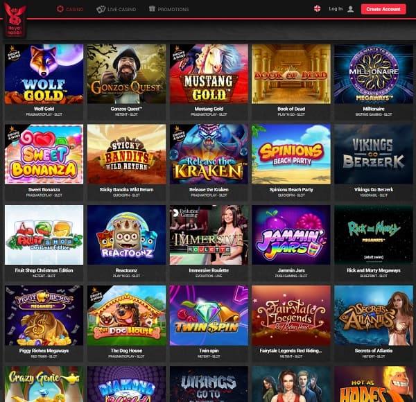 Royal Rabbit Casino Website - Full Review & Rating - 9.3/10!