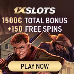 1XSlots Casino banner
