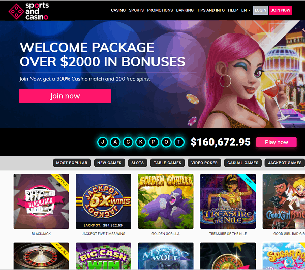 Sports And Casino Full Review