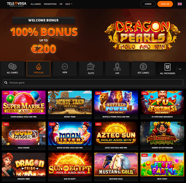 Claim 100% welcome bonus and 100 free spins on 1st deposit