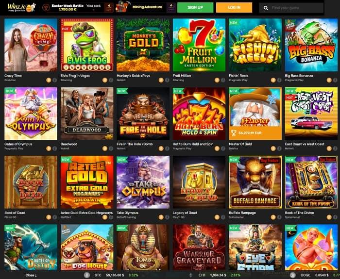 Winz Casino Full Review