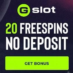 GSlot Casino NDB banner