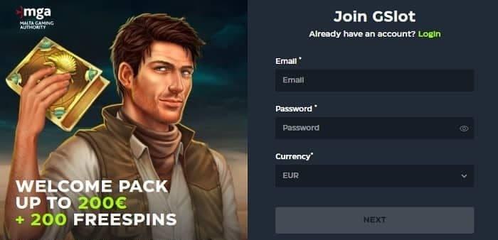Exclusive Sign Up Bonus