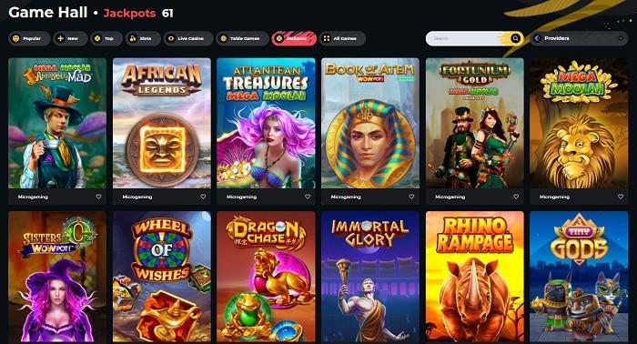 Boomerang Casino Slot Machines