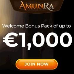 AmunRa Casino WB banner