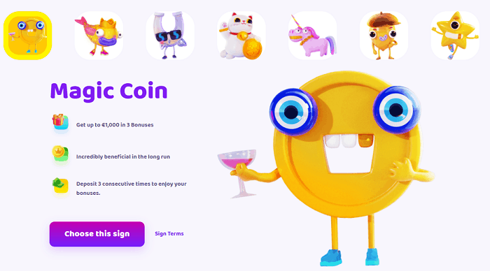 Magic Coin Welcome Bonus