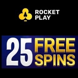 RocketPlay Casino banner excl